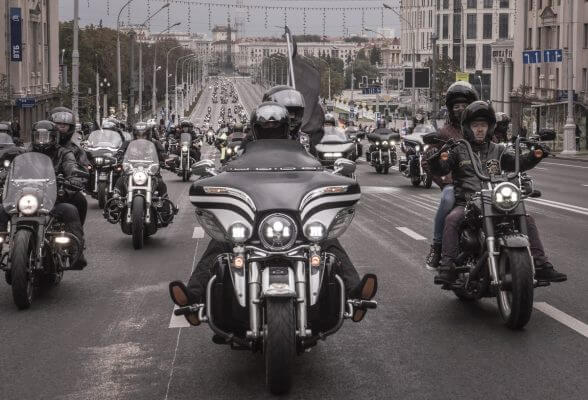 Bikers festival in Minsk in September