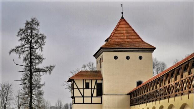 Башня Любчанского замка