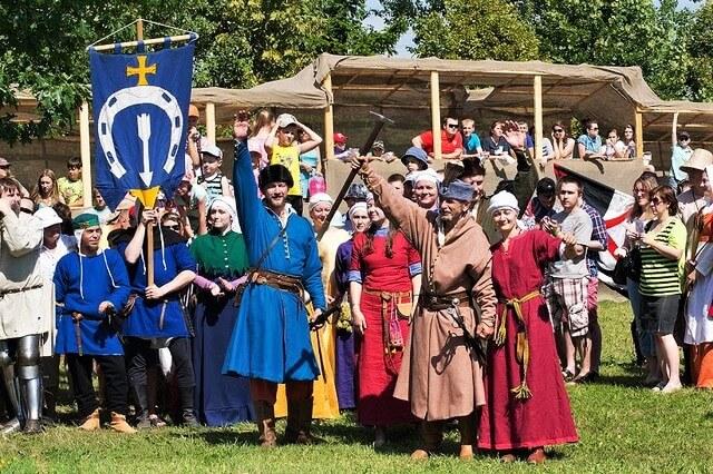 Nash grunwald, battle restoration, Belarus