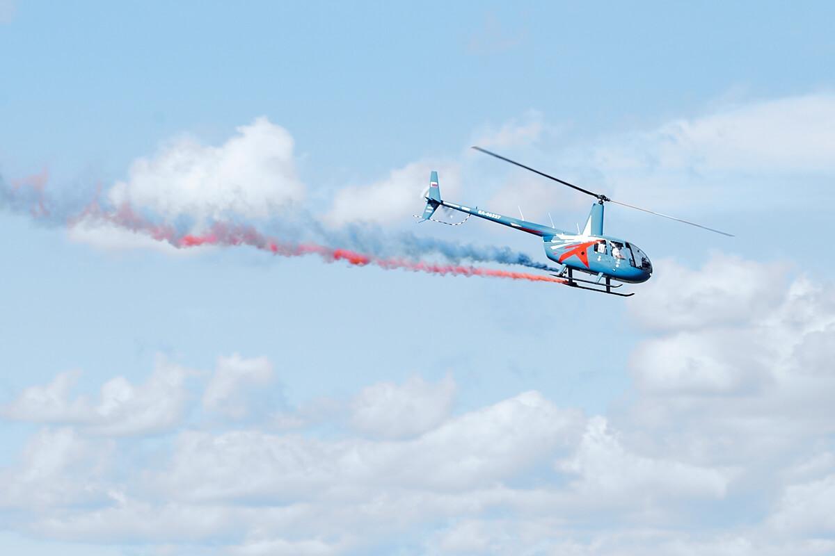 Пронебо, аэрофест в Минске