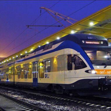 Train in Minsk, transportation in Belarus