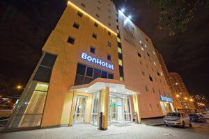 Bonhotel building in Minsk