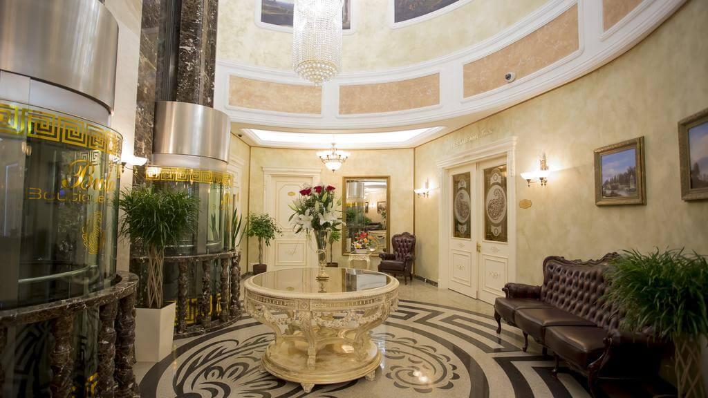 Buta Boutique hotel in minsk inside