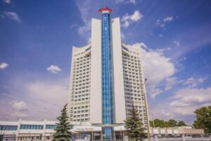 Belarus Hotel outside