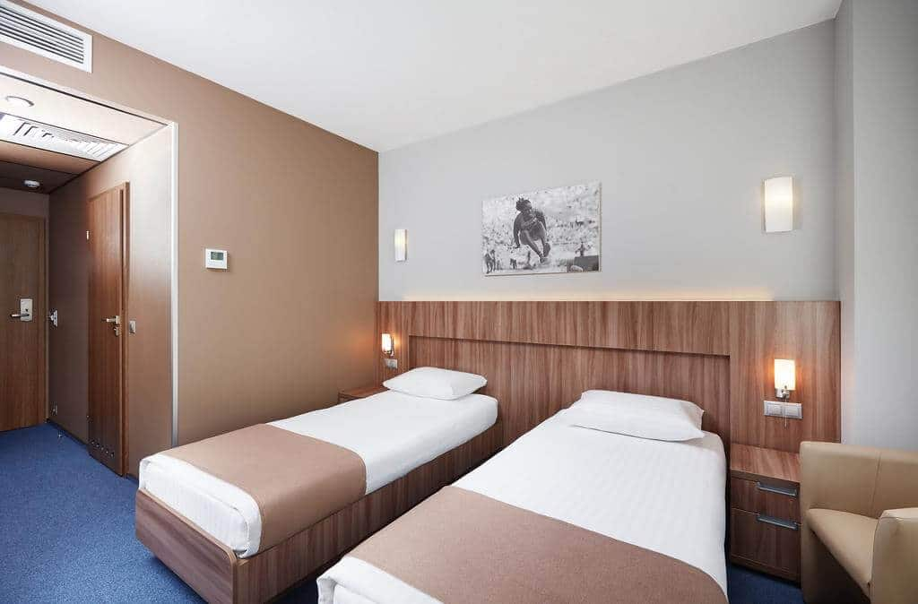 Slavyanstkaya hotel room, Minsk hotels overview