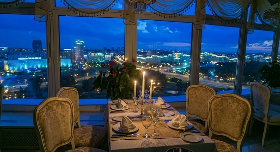 Restaurant in Belarus hotel
