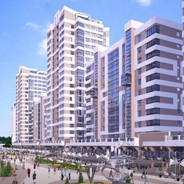 Majak Minsk, complex of buildings, Belarus real estate market