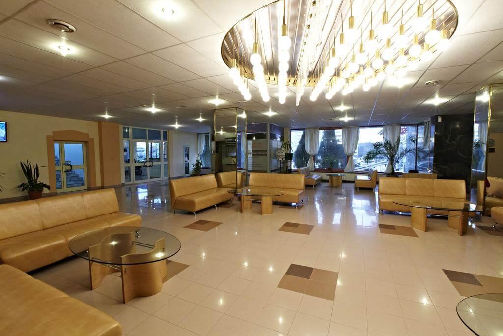 Orbita Hotel hall in Minsk