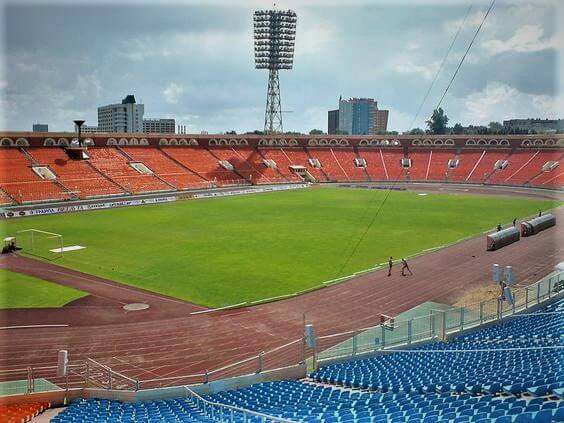 Dinamo football stadium in Minsk, activities in Belarus for sports fans