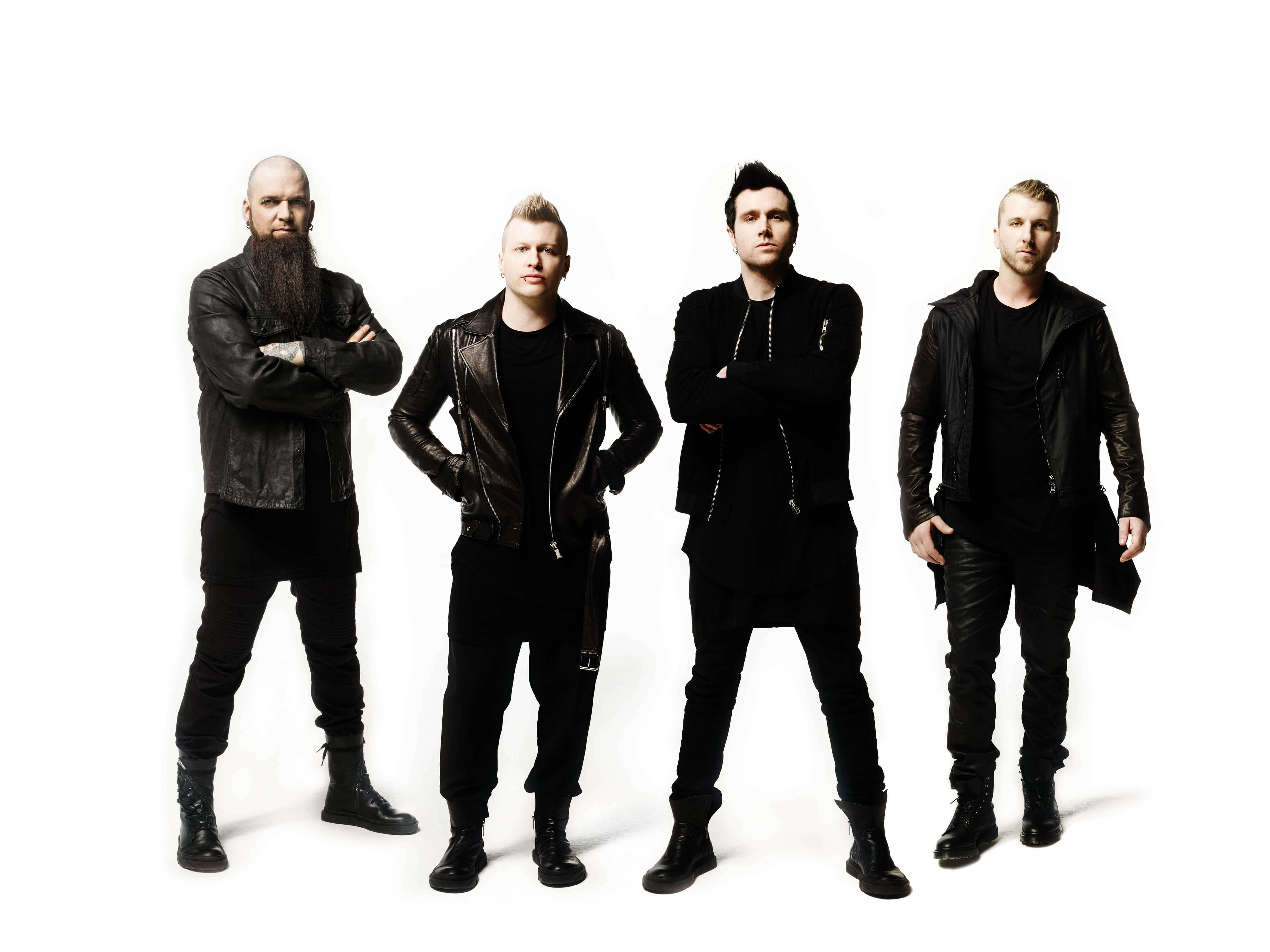 Three days grace band concert in Belarus october 2018