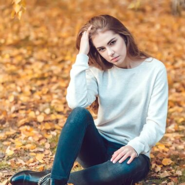 Facts about Belarusian women, autumn portrait