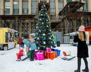Новогодняя елка, события в Минске в декабре 2018 года