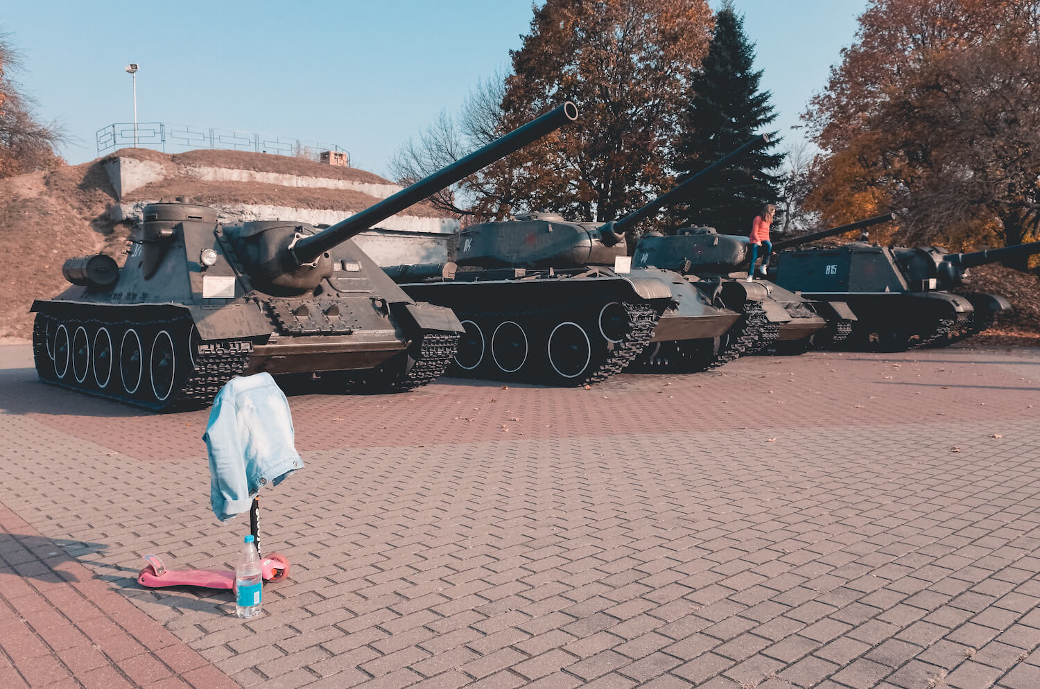 Tanks in Belarus, is it safe to travel solo to Belarus
