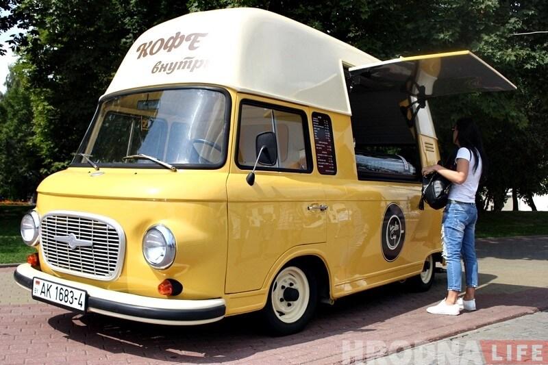 Food truck in Grodno, reasons to visit Belarus in 2019
