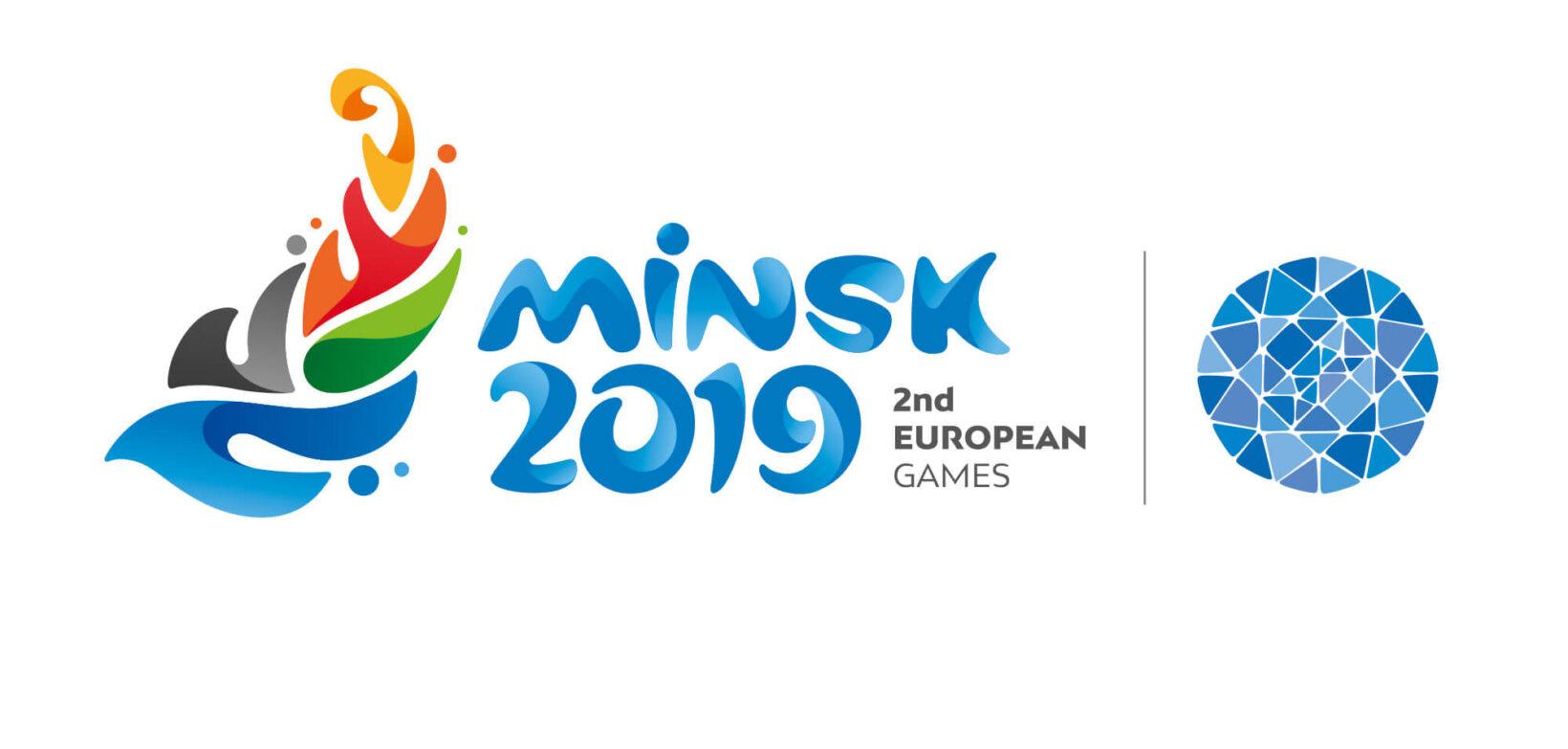 Minsk European games 2019 logo