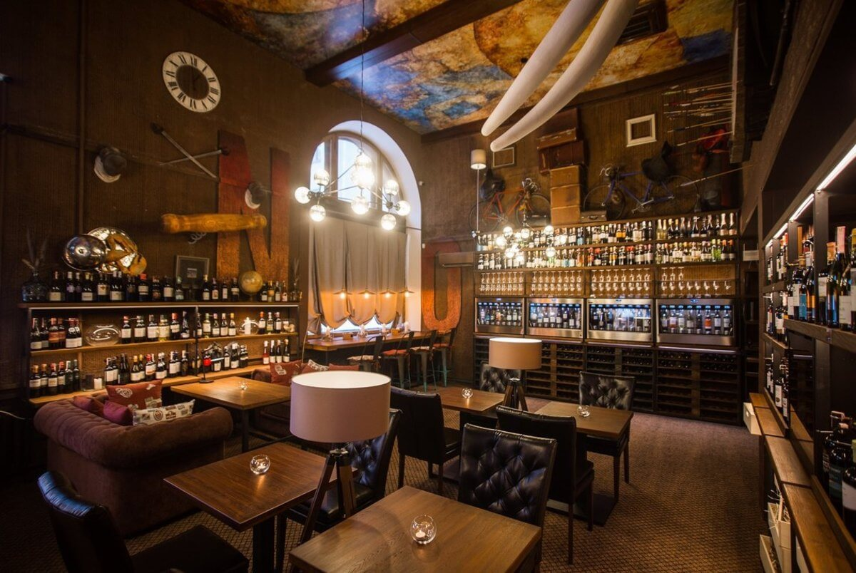 Owino wine bar in Minsk