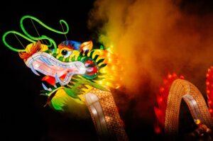 фестиваль гигантских китайских фонарей в Минске 2019