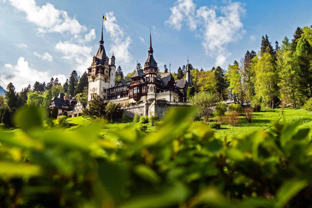 Castle in Romania, guide to visiting Eastern Europe with kids