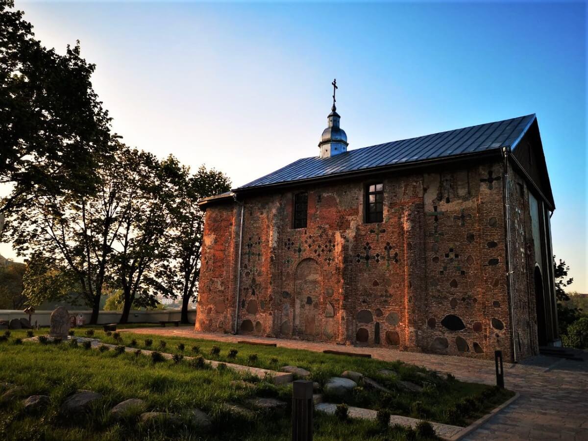 Коложская церковь в Гродно, основная достопримечательность Беларуси