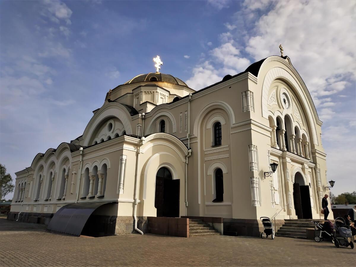 Церковь на территории брестской крепости, достопримечательности бреста
