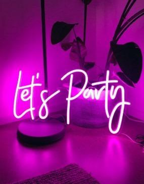 неоновая благотворительная вечеринка