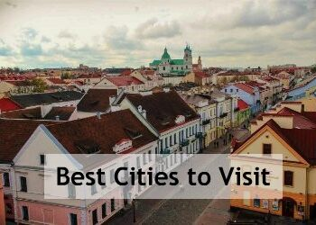 Grodno panorama, cities to visit in Belarus