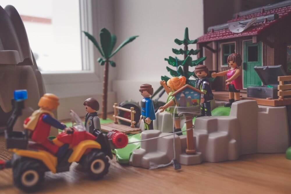 Childhood museum in Minsk, toys