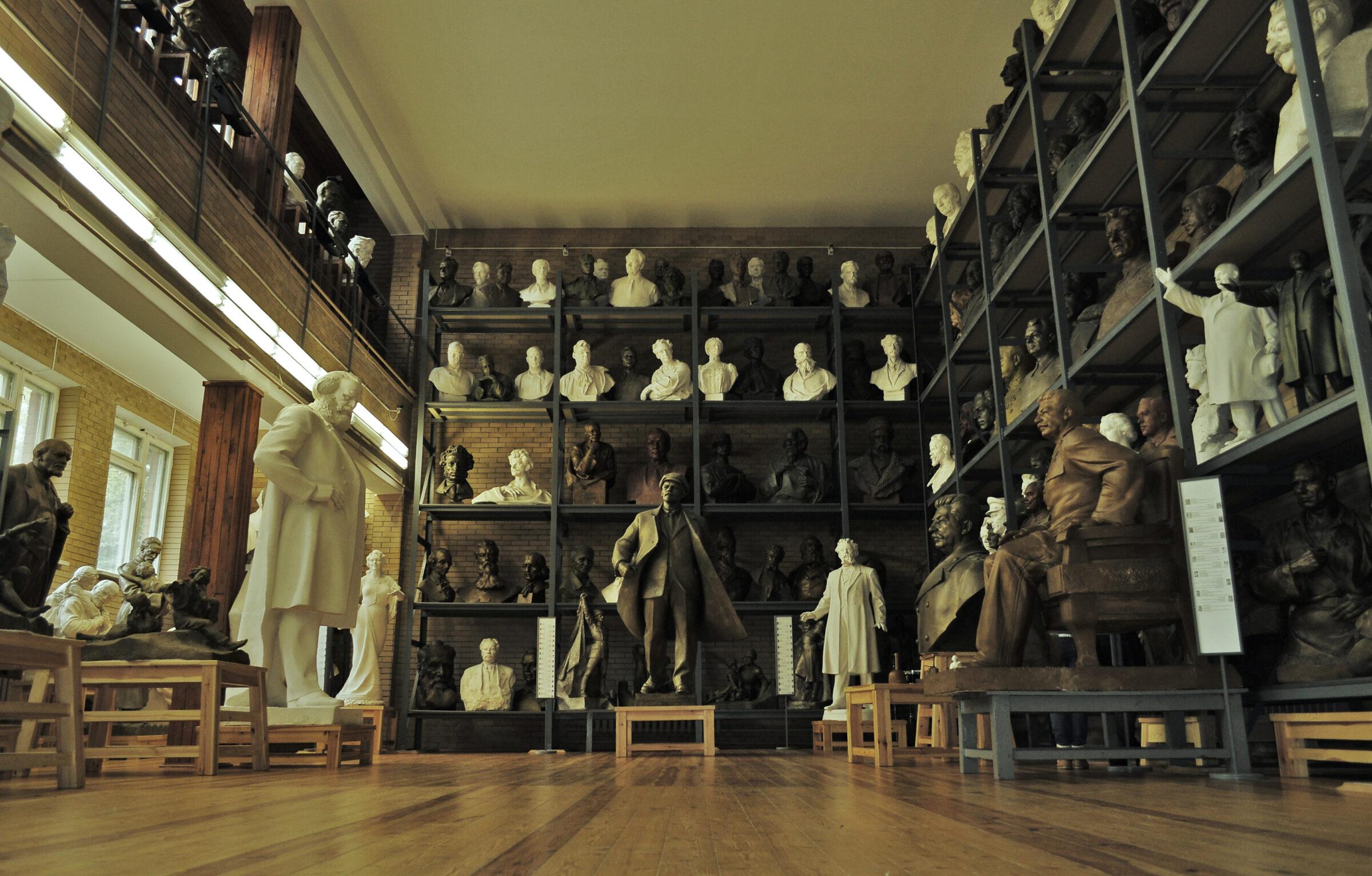 Скульптуры Азгура
