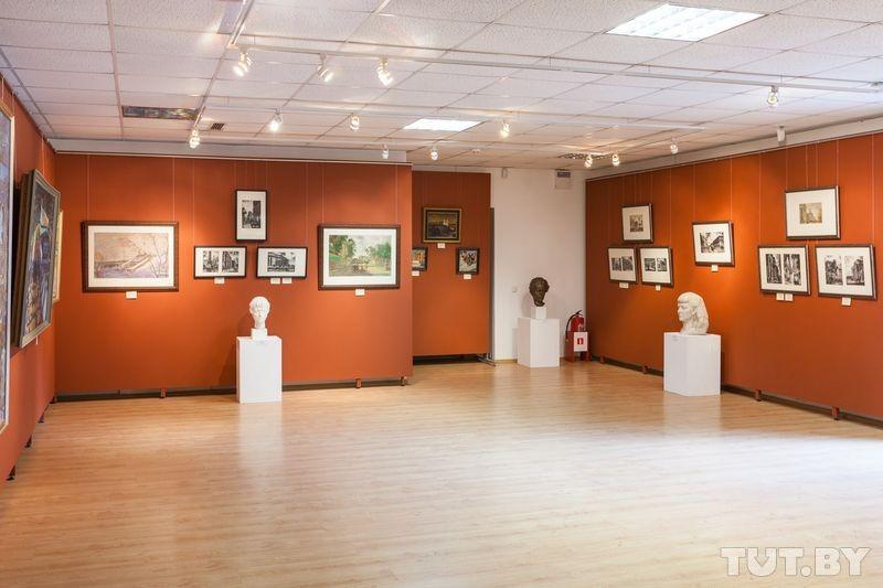Экспозиция в Музее Минска