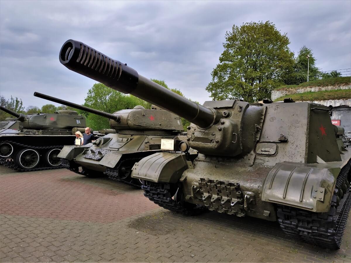 Czołgi w Brześciu, atrakcje białorusi