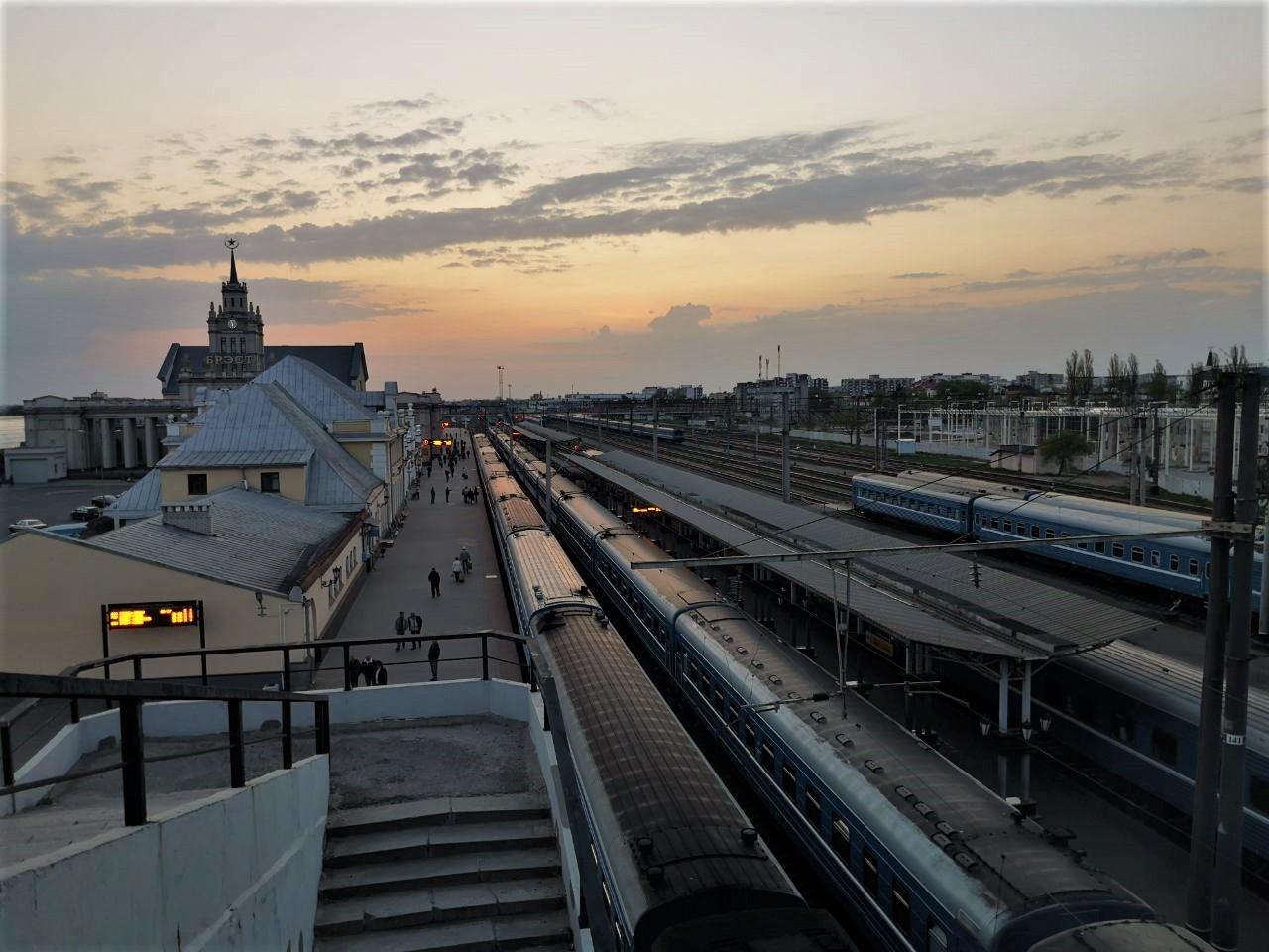 Stacja kolejowa w Brześciu