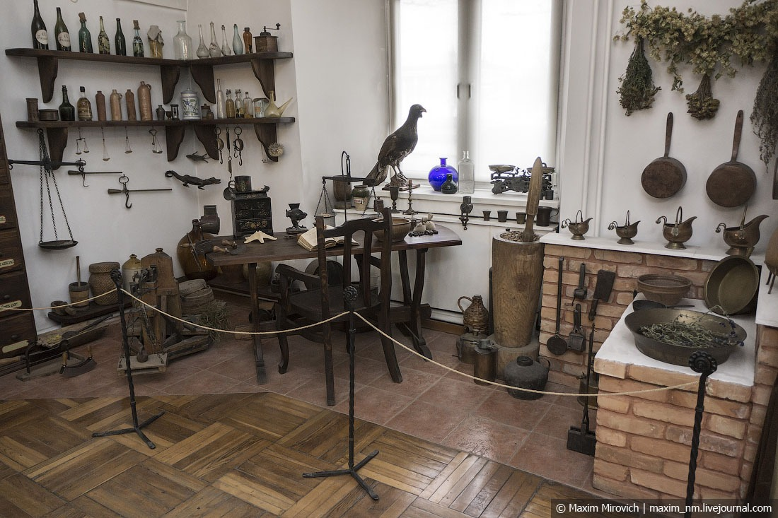 Oldest pharmacy museum in Grodno
