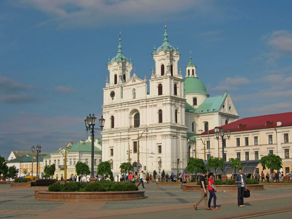 Catholic Cathedral in Grodno