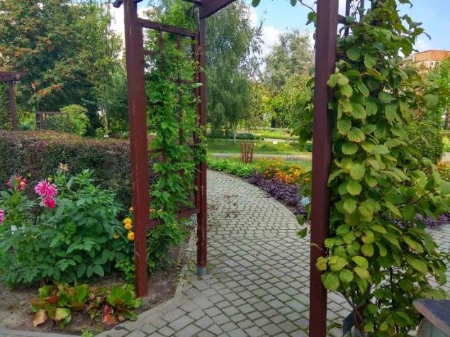 ботанический сад брест
