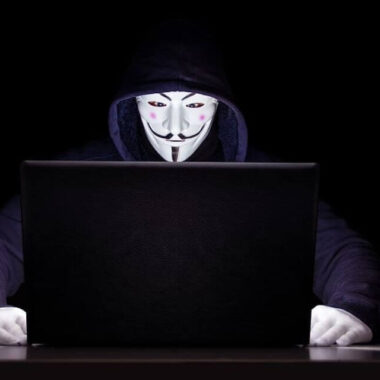 anonymous hacker trying to use your personal data for data breach, cybersecurity threat