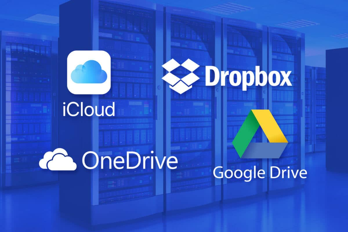 most popular Cloud storage providers