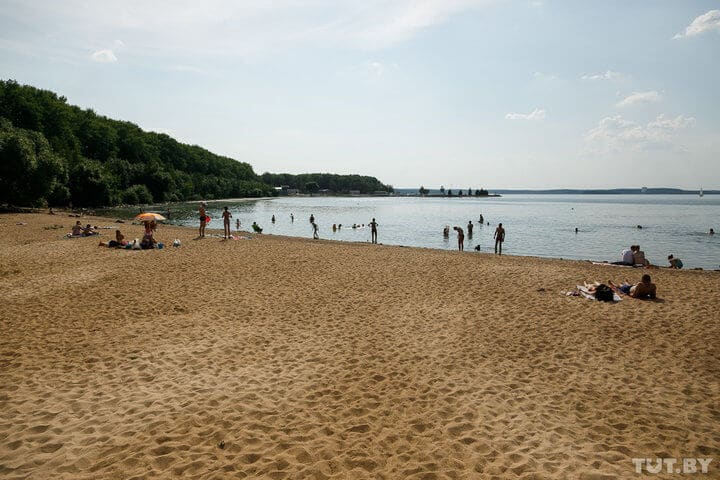 Belarus Minsk city beach resort